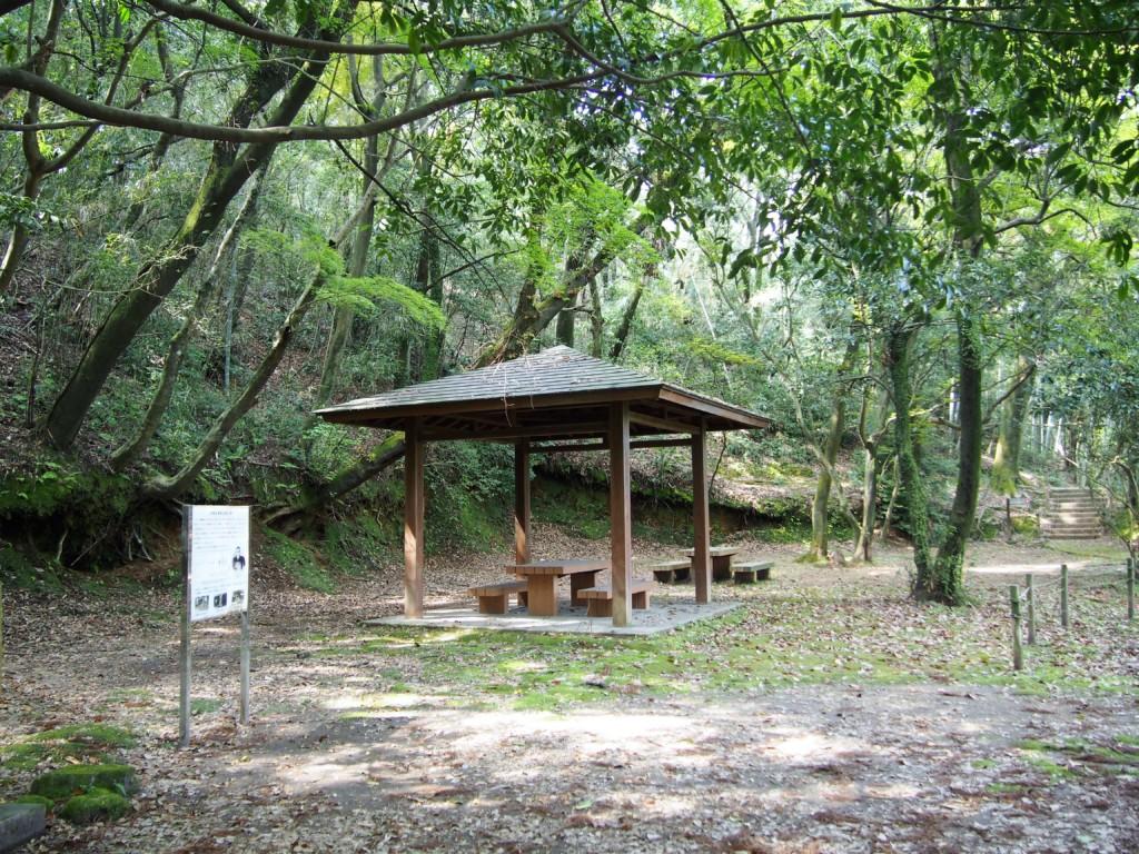 西郷野屋敷跡