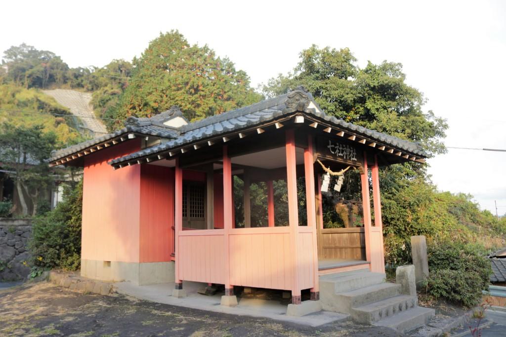 七社神社(鹿児島市桜島)