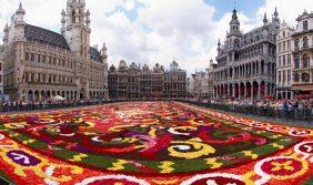 Холандия и Цветният килим в Брюксел 16.08.2018 г.