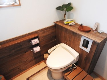 ブルックリン風のインテリアスタイルでトイレをおしゃれに!