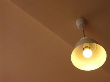 ダウンライトをペンダントライトに交換!雰囲気を変えよう!
