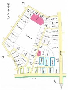 地図で見る新宿区の移り変わり。昭和57年。新宿区教育委員会。