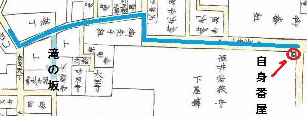 矢来町 歴史 江戸時代
