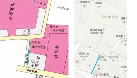 赤城横町 歴史 江戸時代と現代