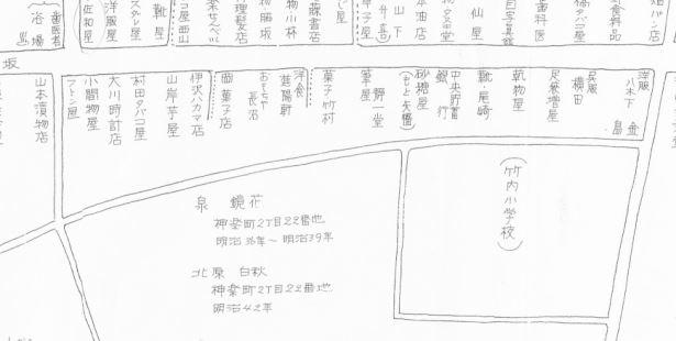 古老の記憶による関東大震災前の形