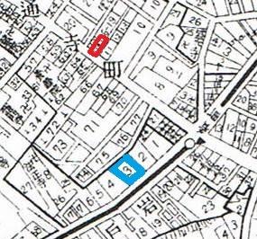 昭和5年「牛込区全図」