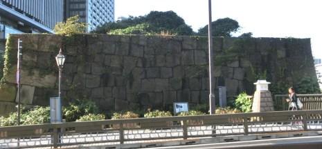 石垣(写真)
