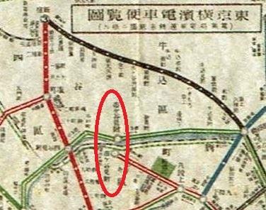 大正8年の路線図