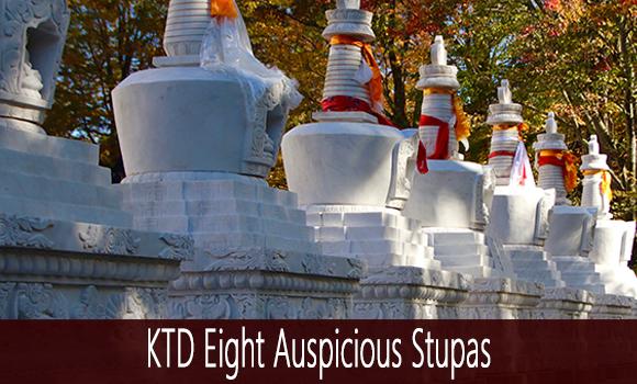8 Auspicious Stupas at KTD