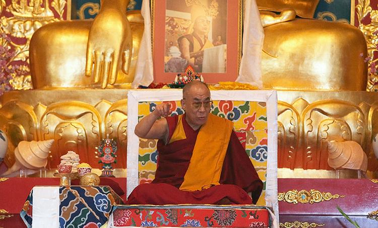 Dalai Lama at KTD