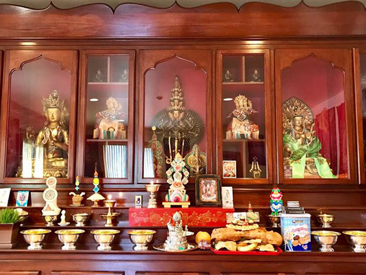 Tara Shrine Room KTD