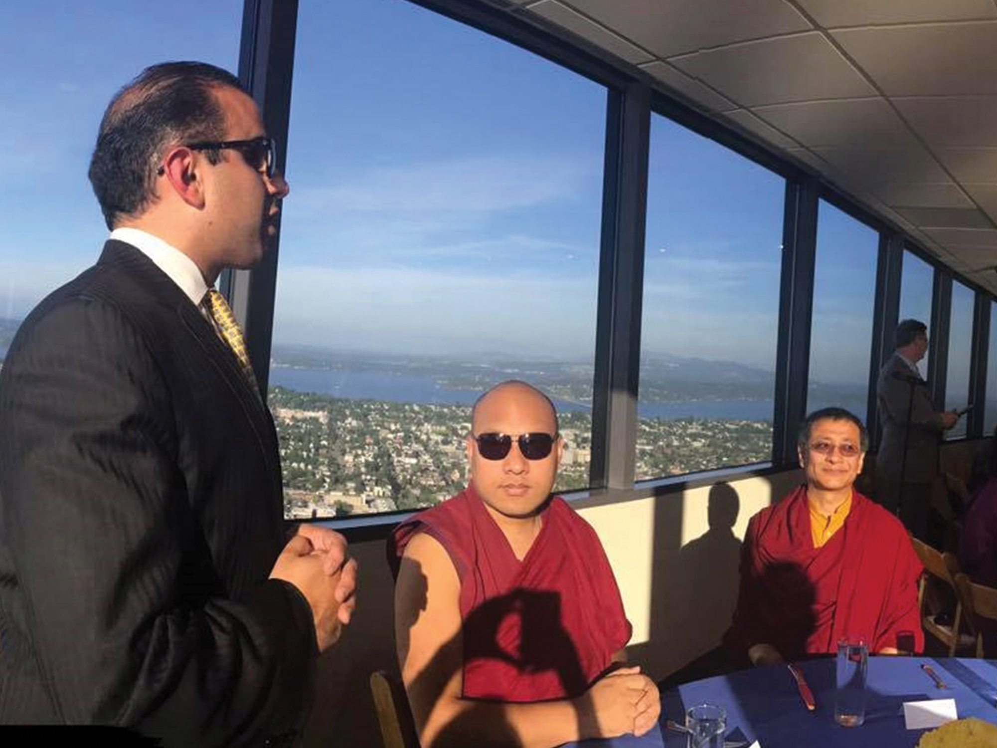 Lt. Governor Welcomes His Holiness the Karmapa to Washington State