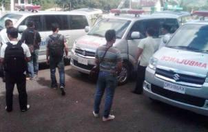 Pemkot Bima beli empat unit Mobil Ambulance. Foto : Bin