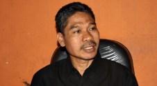 Komisioner Panwaslu Kota Bima Ir. Khaerudin M. Ali. Foto; Bin