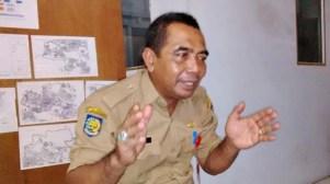Kepala Dinas Tata kota dan Perumahan Ir. Hamdan. Foto: Bin
