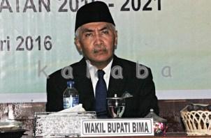 Wakil Bupati Bima Dahlan M. Noer. Foto: Bin