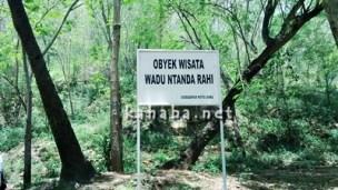 Papan obyek wisata Wadu Ntanda Rahi. Foto: Bin