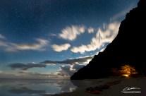 Moonrise over Miloli'i – Napali Coast, Kauai