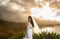 Kauai Sunset Bride