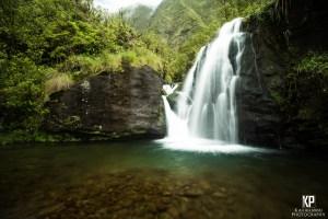 Stunning Eastside Kauai Waterfall in the mountains