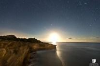 Moonrise over Shipwrecks
