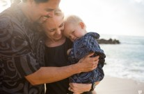 Happy Kauai Family Portrait Photographer, Kauai Hawaii