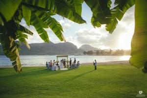 Kauai wedding photography at the Marriott Kalapaki Beach