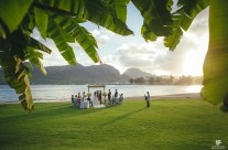 Sunset Wedding at the Kauai Marriott
