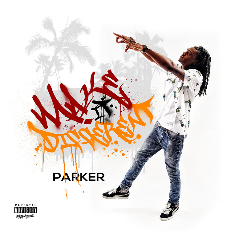 kahraezink_parker_make_it_different_mixtape_cover_design