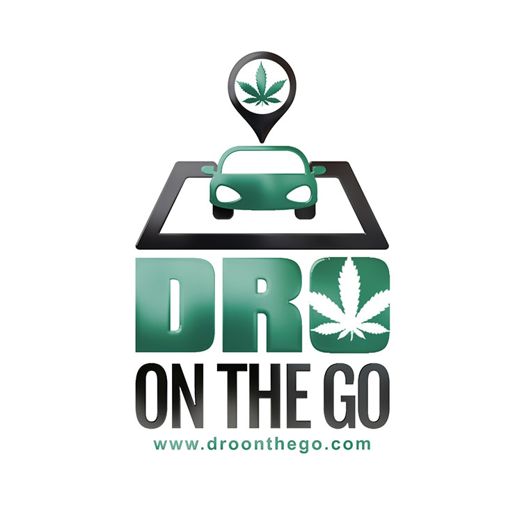 kahraezink_dro_on_the_go_marijuana_weed_dispensary_logo_design