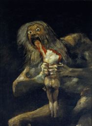 7(36,38)Goya Saturn Devouring his son