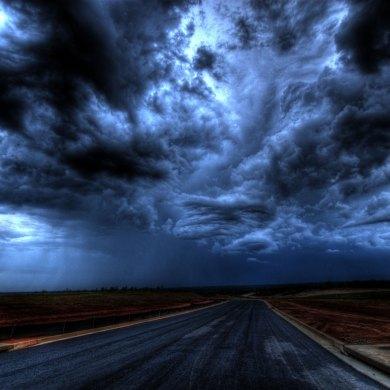 gökyüzü, bulutlar
