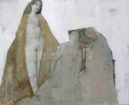 2010-Usichtbare-Werte-130-x-160-cm-Öl,-Acryl,-Tusche,-Nessel