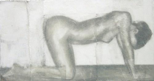2004 o.T. 150 x 80 cm