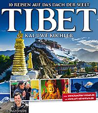 Plakat Live-Vortrag Tibet