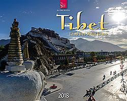 Kalender: Tibet 2018 im Verlagshaus Würzburg