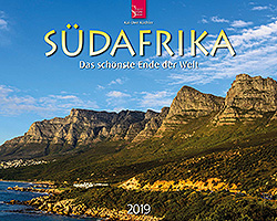 Kalender: Südafrika 2019 im Verlagshaus Würzburg