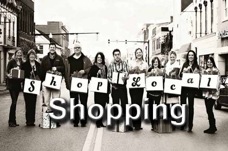 Shopping – boutique, craft, clothing and arts