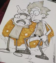 Rick & Morty Commission at APCC