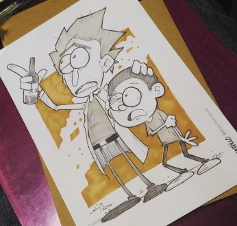 Another Rick & Morty Commission at APCC