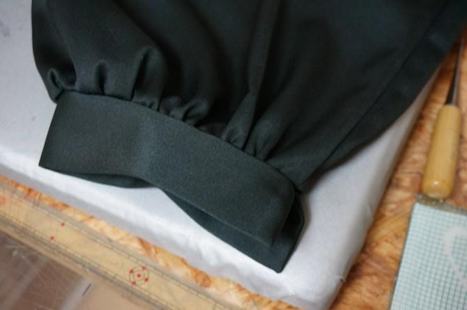 サスケ真伝のサスケのパンツの裾