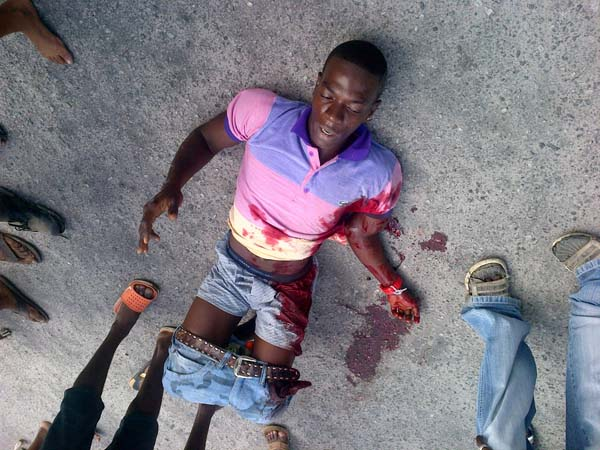 Albouystown Man Shot In Tucville  Kaieteur News