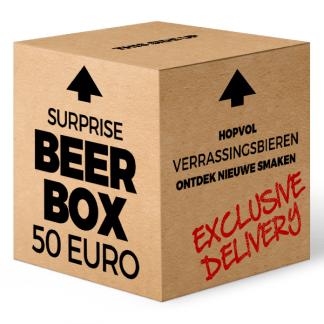 Surprise Beer Box 50 euro