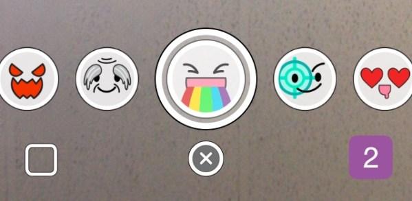 كيفية إظهار التأثيرات في تطبيق السناب شات SnapChat