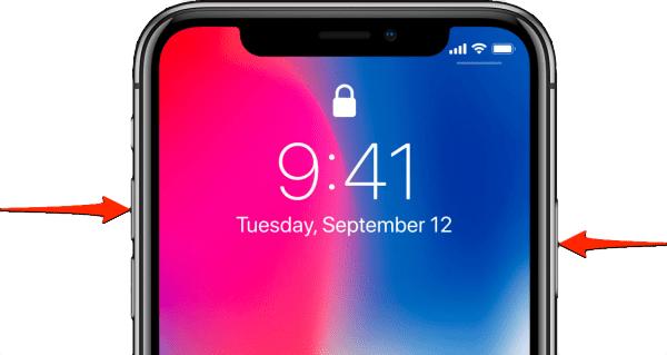 كيفية إلتقاط و تصوير شاشة الأيفون اكس Iphone X, XS MAX دون استخدام أي تطبيق