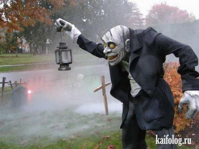 Готовимся отмечать Хэллоуин (45 фото)