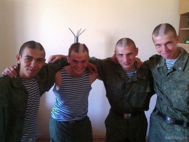 Кто в армии служил, тот в цирке не смеётся (45 приколов)