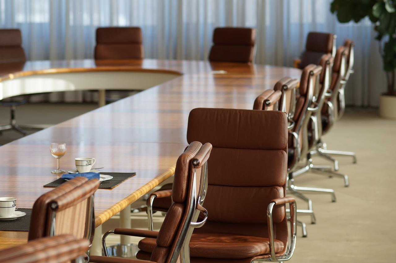 オフィス、会議室