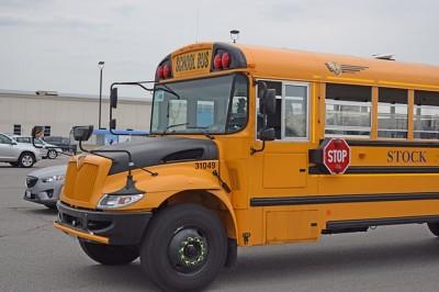 アメリカの幼稚園、スクールバス