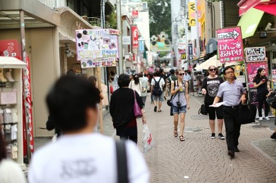 日本に一時帰国した時に感じること 町並みの変化